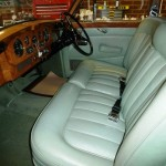 Leather seats and trim panels renovated